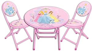 Disney Princess Folding Table and Chairs Set