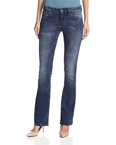 Mavi Women's Leigh Mini Bootcut Jean