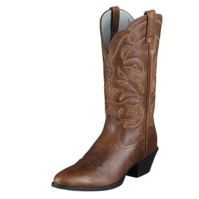 Ariat Ladies Heritage Western R Toe Boot by Ariat