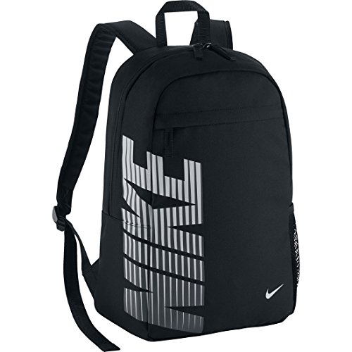 Nike Classic Sand Zaino, Black/Black/(White), Taglia Unica