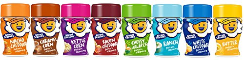 Kernel Season's Mini Jars Seasoning Variety Pack, 0.9 Ounce Shakers (Pack of 8) (Popped Popcorn Variety Pack compare prices)