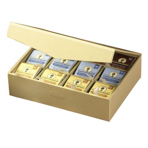 Scharffen Berger Chocolate Tasting Squares Box (82% Extra Dark Chocolate, 70% Bittersweet Chocolate, And 62% Semisweet Chocolate), 48-Piece Box