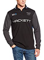 Hackett London Polo Amr Hkt Rugby (Negro)