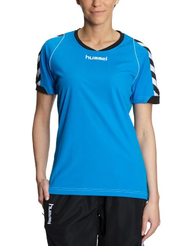 Hummel Damen Trikot BEE AUTHENTIC Short Sleeves JERSEY, diva blue, XS, 03-911-7428_7428