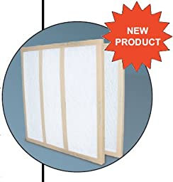 Glasfloss Industries GDS14301 GDS Series Double Strut Disposable Panel Air Filter, 12-Case