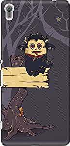 The Racoon Grip The Vampire Diary hard plastic printed back case/cover for Sony Xperia XA Ultra