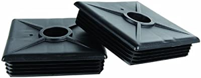 Camco 40303-X RV Bumper Caps - 2 pack (Black)