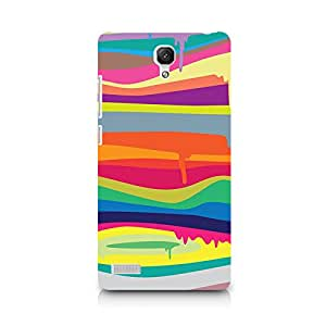 TAZindia Designer Printed Hard Back Case Cover For Xiaomi Redmi Note