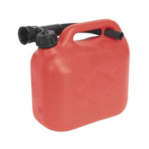 Sealey JC5R Fuel Can, 5 Liter, Red