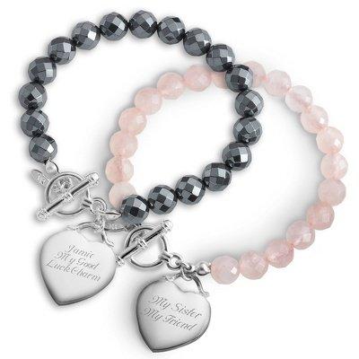 Personalized Gemstone Bracelets Gift