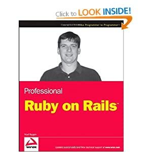 Professional Ruby on Rails (Programmer to Programmer)