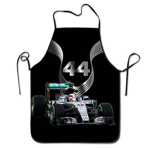 Lewis Hamilton 2016 F1 Car Driving Durable BBQ Adjustable Bib Aprons (Brazilian Bbq Knife compare prices)
