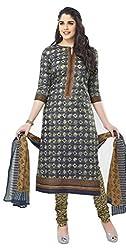 Chandra Enterprises Cotton Printed Dress Material / Chudidar Suit for Women(Unstitched)