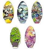 "Urban Beach 41"" Teen Adult Wood Skimmer Skim Board Boards Beach Sea - Monster Slime"