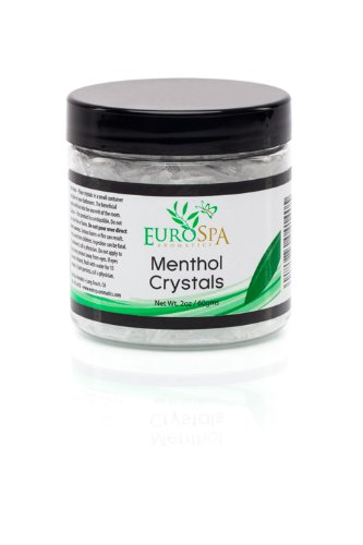Menthol Crystals Natural Room & Spa Quality Freshener - 100% Pure and Natural from Peppermint 2oz (Shower Menthol compare prices)