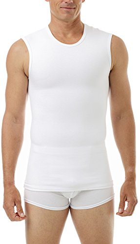 Underworks Cotton Concealer Compression Muscle Shirt Top