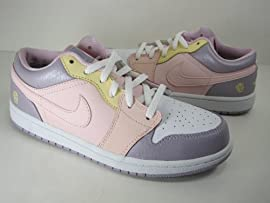 GIRLS JORDAN 1 LOW (GS) (322708-671) CHILDREN BASKETBALL SHOES