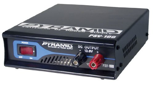 Pyramid Psv40 Fully Regulated Low Ripple 3Amp Switching Dc Power Supply front-848615