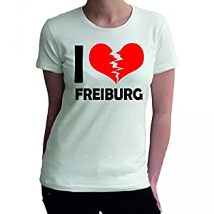 I don't love Freiburg FUN Damen T-Shirt