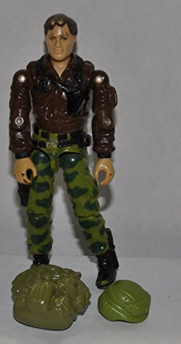Vintage Hawk with Backpack & Helmet (1986) - Hasbro Action Figure - Doll Toy G I Joe Cobra - Loose Out of Package & Print (OOP) - 1