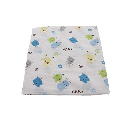CoCaLo Baby Peek A Boo Monsters Fitted Sheet - 1