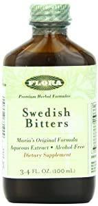 Flora Swedish Bitters Non-Alcohol, 3.40-Ounce