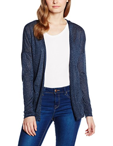 Vila Stare-Cardigan Donna, Blu Marino (Total Eclipse), Medium