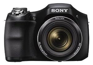 Sony DSC-H200 Digital Camera with 3-Inch LCD (Black)
