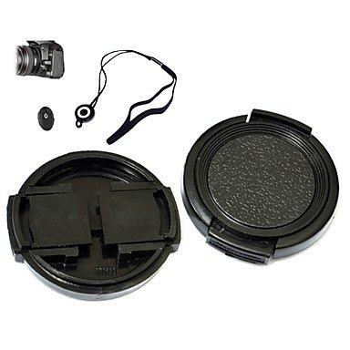 QF- kushop jnjtg-43mm 43mm Objektivdeckel für Canon Powershot Pro1 mit Halter Leine Gurt
