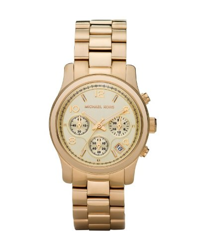 Michael Kors Midsized Chronograph Gold Tone Womens