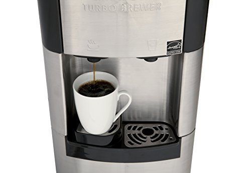 Estratto Commercial Single Cup Coffee Maker & Self Cleaning Stainless Water Cooler from ...