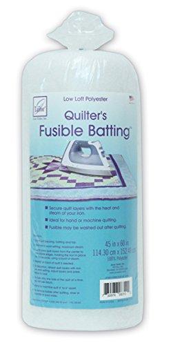 June Tailor Quilt Low Loft Fusible Batting 45 X 60 Inch