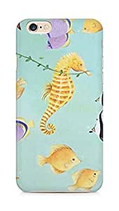 Amez designer printed 3d premium high quality back case cover for Apple iPhone 6 (Fishies)