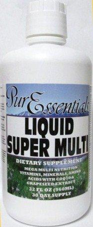 Pure Essentials Liquid Super Multi With Colloidal Minerals