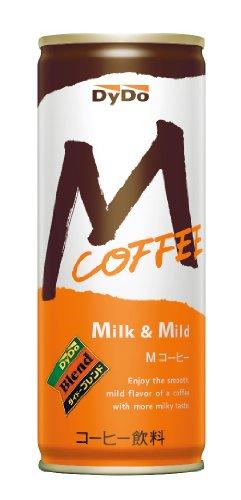 ダイドードリンコ ダイドーブレンド Mコーヒー 250g×30本