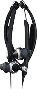 JVC HASX500 Stereo iPhone Headphones Behind-the-Neck Earphone Headset (HA-SX500)