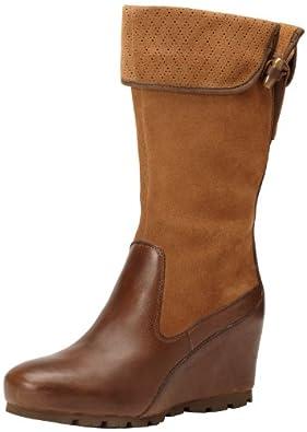 Merrell Women's Wedgetarian Lyla Boot,Dark Earth Smooth,8.5 M US