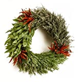 Fresh 3 Herb Wreath
