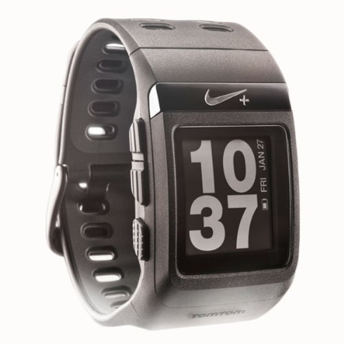 Nike+ SportWatch GPS Powered by TomTom (Black) Running Gps