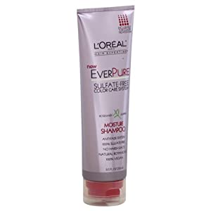 L'Oreal Paris EverPure Moisture Shampoo, 8.5-Fluid Ounce