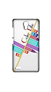 Color Life Of City Case For XIAOMI RED MI- NOTE (4G)