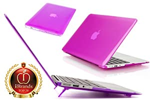 "Purple mCover® Hard Shell Cover Case For NEW 11.6-inch A1370 Apple MacBook Air (fits MC505LL/A or MC506LL/A order numbers, NOT compatible with 13"" MacBook Air)"