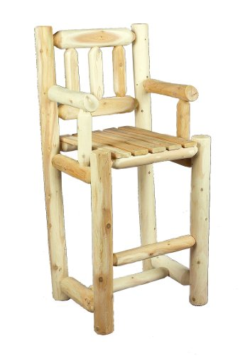 Cedarlooks 010003B Bar Stool with BackB0000A4ND1