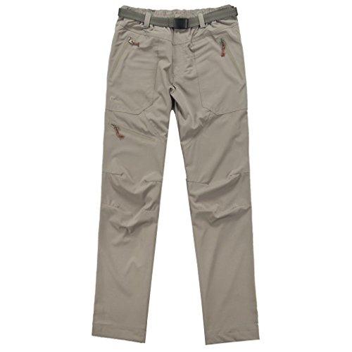 Caxa Men's Outdoor UV Seamless Stretch Mountaineering Bags Quick-drying Pants caxa outdoor mountaineering quick drying polyester spandex socks for men green black pair