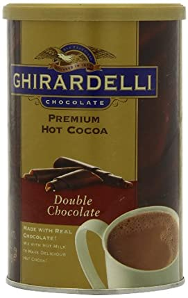 (速抢)Ghirardelli热可可Chocolate Premium Hot Cocoa 16OZ双倍巧克力4罐SS$18.06