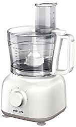 Philips Daily Collection HR7627/00 650-Watt Mini Food Processor (White)