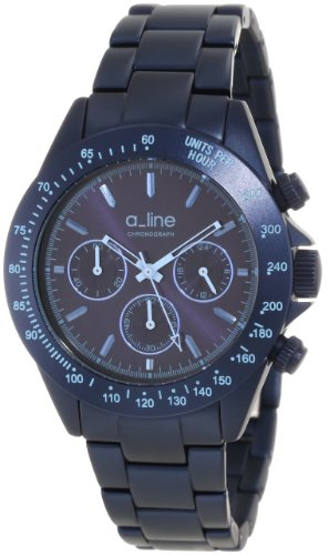 A_Line Women'S 20050-Nb Amore Chronograph Royal Blue Aluminum Watch