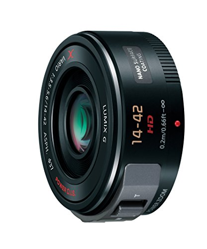 Panasonic マイクロフォーサーズ用  14-42mm F3.5-5.6 電動ズーム搭載標準レンズ ブラック G X VARIO PZ ASPH. POWER O.I.S. H-PS14042-K