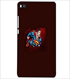 PRINTSWAG CARTOON CHARACTER Designer Back Cover Case for HUAWEI P8