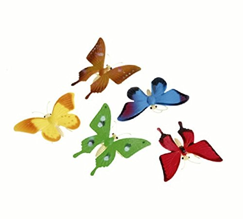 US Toy Detailed Toy Butterflies Assorted Breeds Novelty
